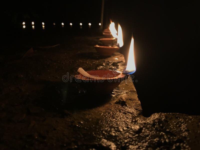 Schoonheid van de klei - lampen stock afbeeldingen
