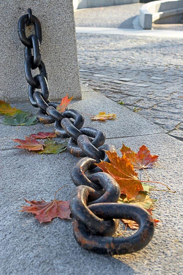 Schoonheid van de langzaam verdwijnende herfst royalty-vrije stock afbeeldingen
