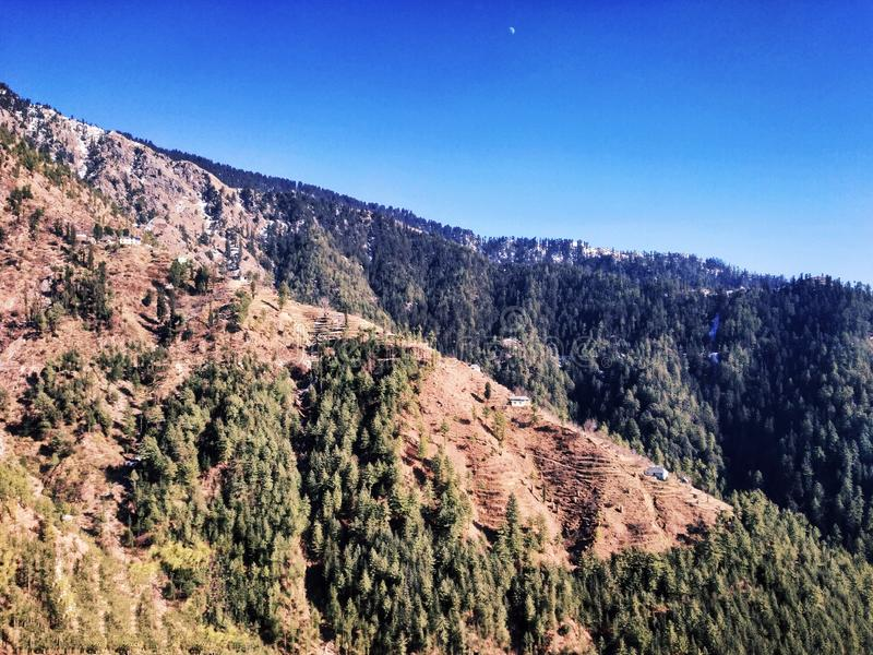 Schoonheid van Himachal Pradesh royalty-vrije stock fotografie