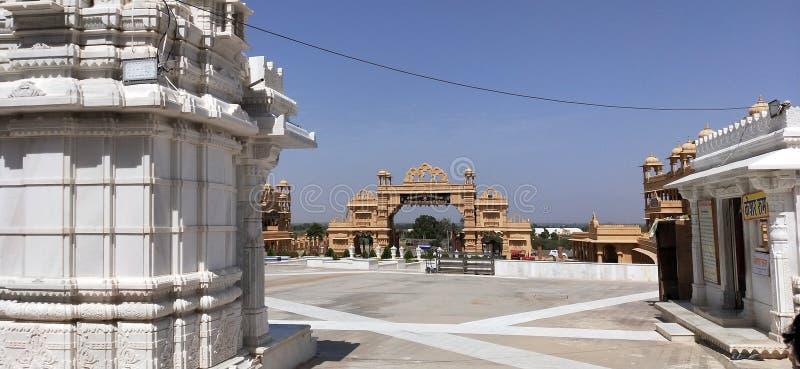 Schoonheid van Indische tempel stock afbeeldingen