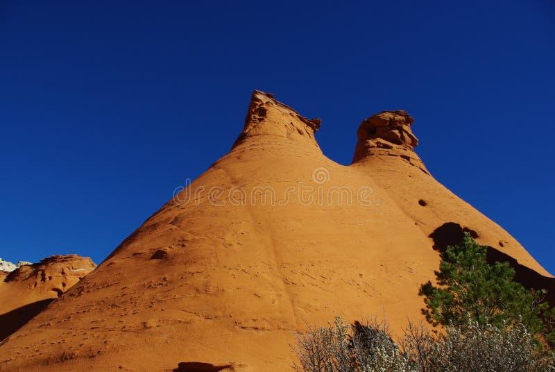 Schoonheid van rotsen, Utah royalty-vrije stock afbeeldingen