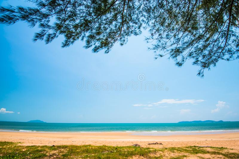 Schoonheid van sea64 stock foto