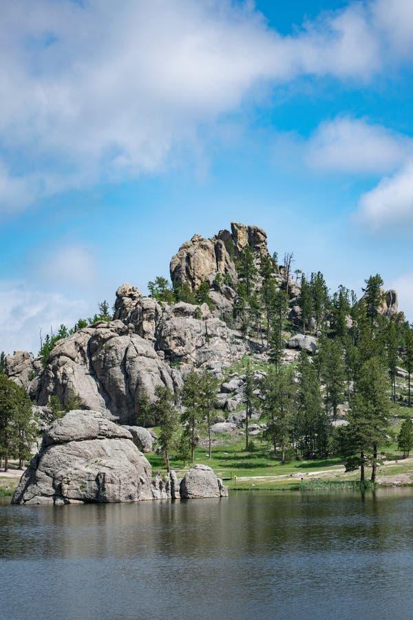 Schoonheid van Sylvan Lake royalty-vrije stock fotografie