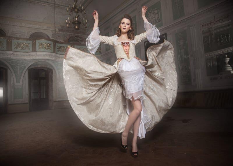 schoonheids dame royalty-vrije stock afbeelding