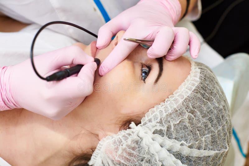 Schoonheidsbehandelingen, persoonlijke verzorging, schoonheidssalon stock foto's
