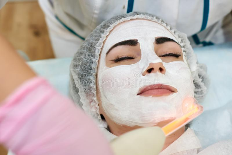 Schoonheidsbehandelingen, persoonlijke verzorging, schoonheidssalon royalty-vrije stock foto