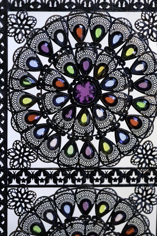Schoonheidsgetrouw met de hand vervaardigde mexicaanse artesania stock foto's