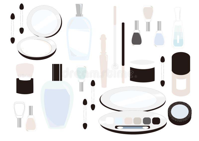 Schoonheidsmiddelen stock illustratie