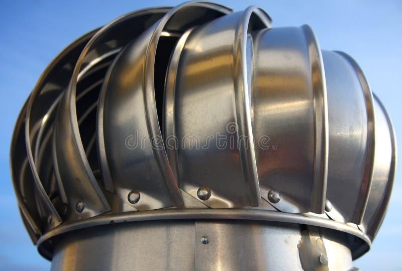 Schoorsteen van luchtventilatie stock afbeelding