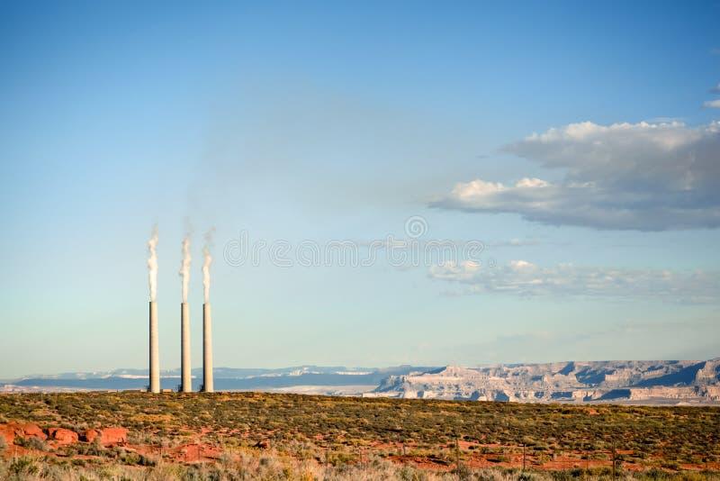 Schornsteine in Arizona lizenzfreies stockbild