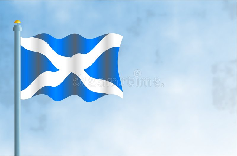 Schotland stock illustratie