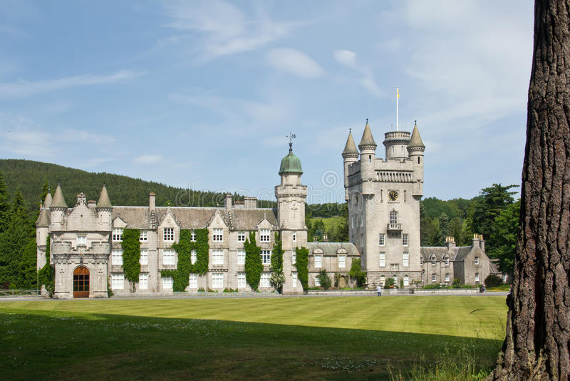 Schotland, balmoral kasteel stock afbeelding