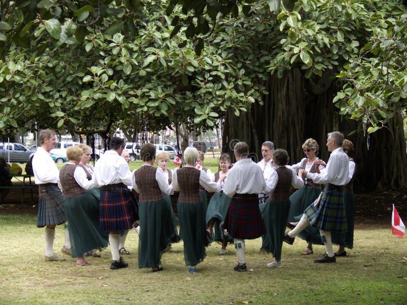 Schots Festival stock fotografie