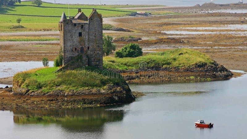 Schots kasteel royalty-vrije stock afbeelding