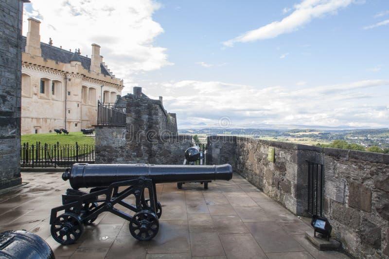 Schots kasteel, Stirling Castle stock afbeelding