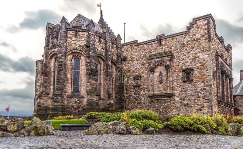 Schots Nationaal Oorlogsgedenkteken, het kasteel van Edinburgh stock afbeelding