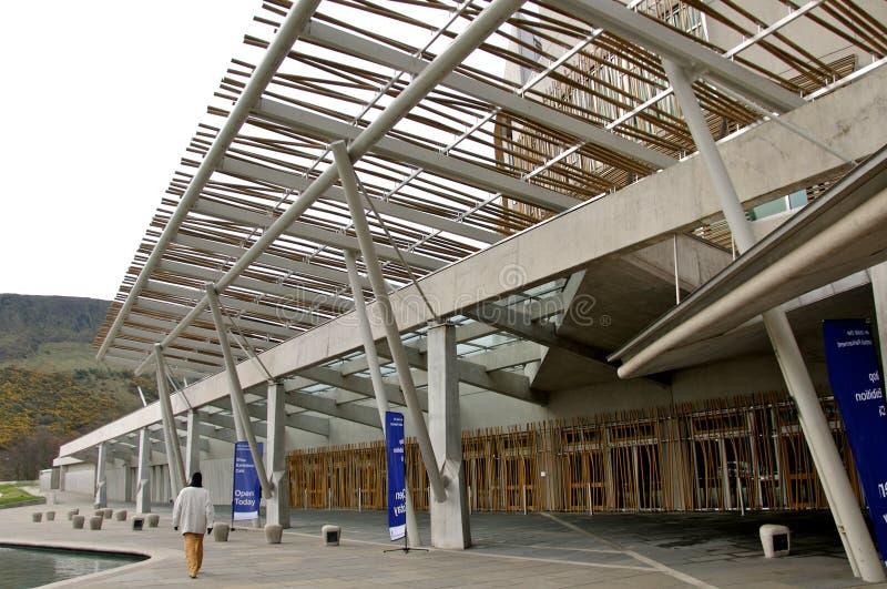 Schots Parlementsgebouw stock afbeeldingen