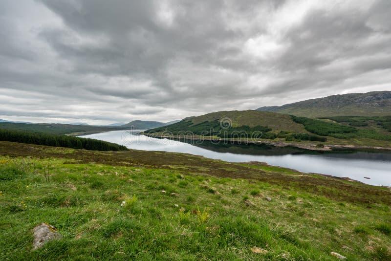 Schotse Hooglanden Schotland, het Verenigd Koninkrijk stock foto