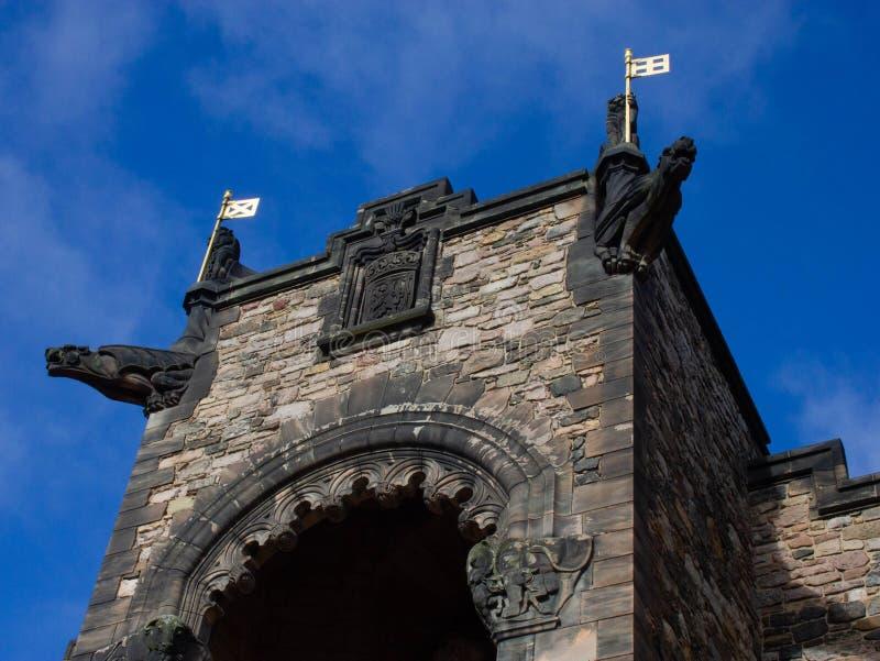 Schotse Nationale Oorlog herdenkings-Edinburgh, Schotland stock foto's