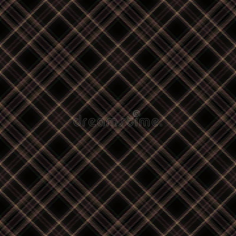 Schottenstoffmuster, diagonaler Gewebehintergrund, Mode Stewart lizenzfreie abbildung