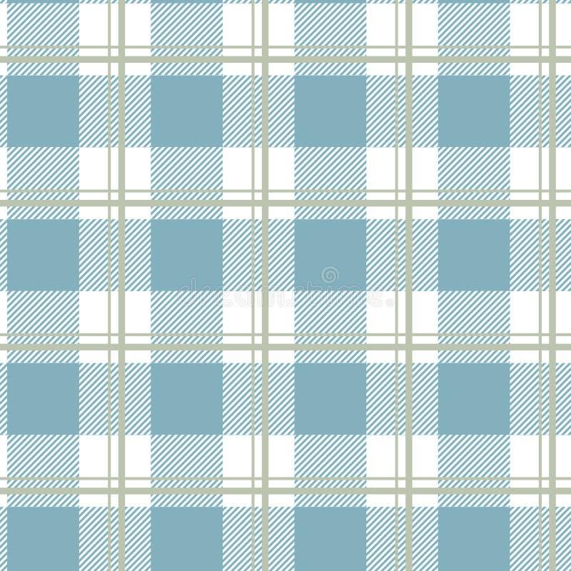 Schottenstoffmuster Schottischer Käfig Schottischer karierter Hintergrund Traditionelle schottische Verzierung Schottisches Plaid lizenzfreie abbildung