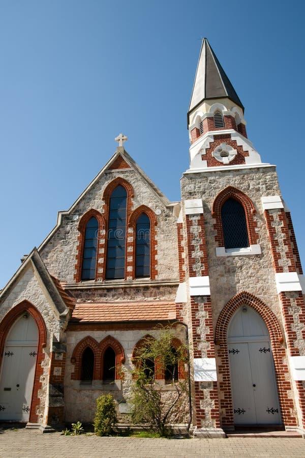 Schottische Presbyterianische Kirche - Fremantle - Australien stockfotografie