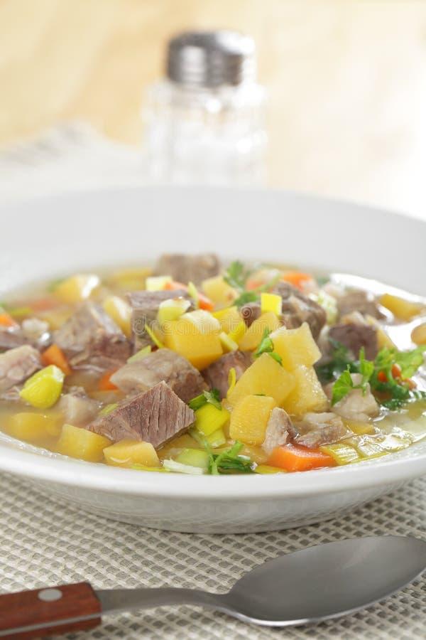 Schottische Suppe lizenzfreie stockfotografie