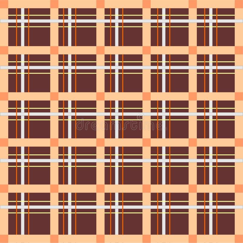 Schottische Zelle, nahtlos, Muster stockfotografie