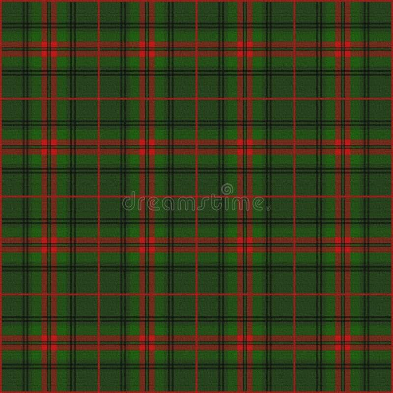 Schottischer Hintergrund stock abbildung