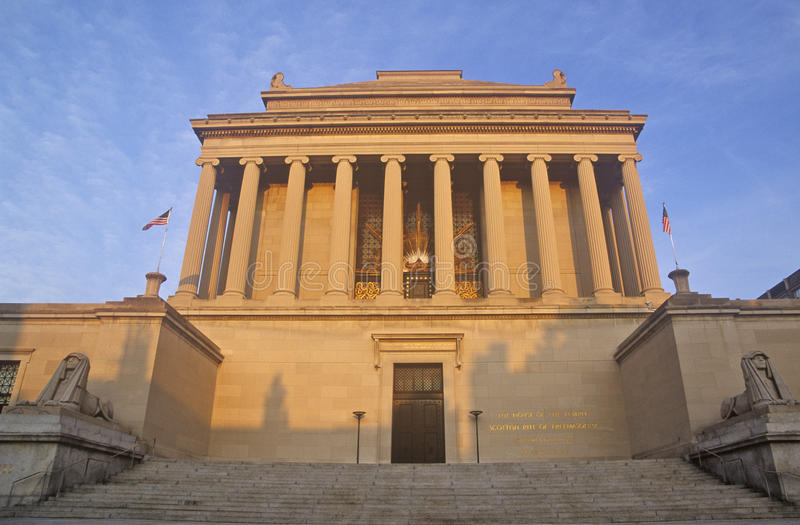 Schottischer Ritus-Tempel, Washington, DC lizenzfreies stockfoto
