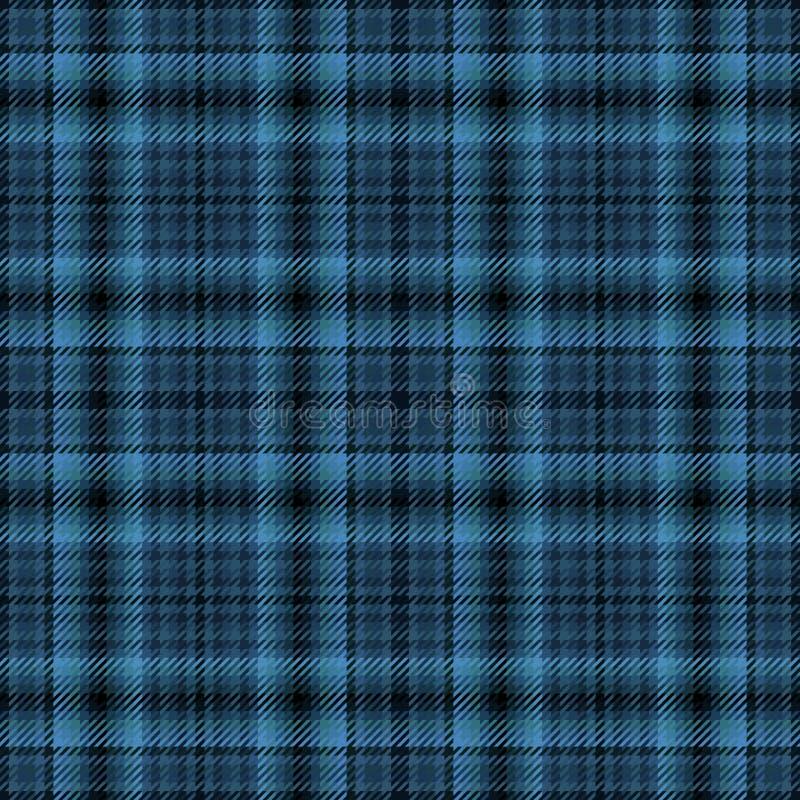 Schottisches Gewebe des Plaids und Schottenstoffmuster, keltische Kontrolle stock abbildung