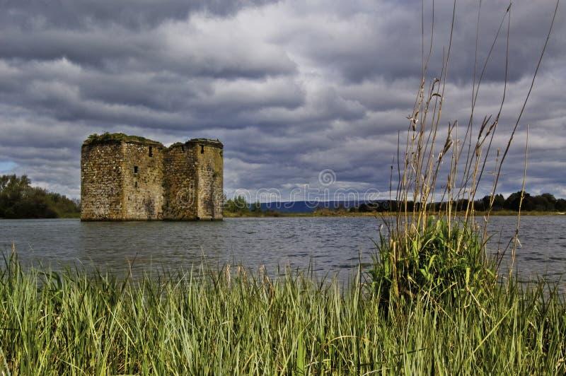Schottisches Schloss stockbild