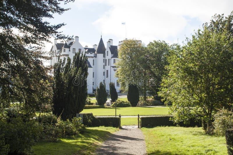 Schottisches Schloss, Blair Castle lizenzfreies stockfoto