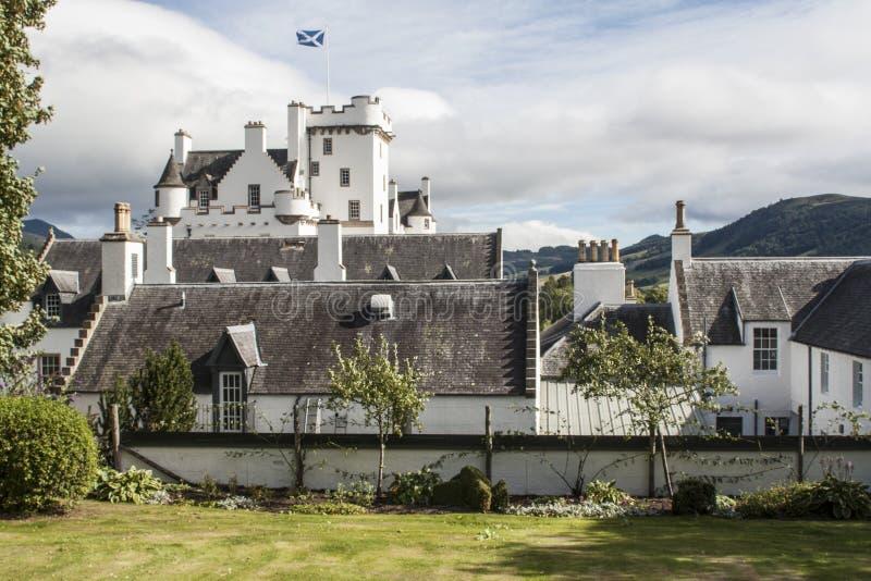 Schottisches Schloss, Blair Castle lizenzfreie stockfotografie