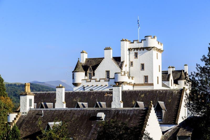 Schottisches Schloss Blair, Vereinigtes Königreich stockfotos