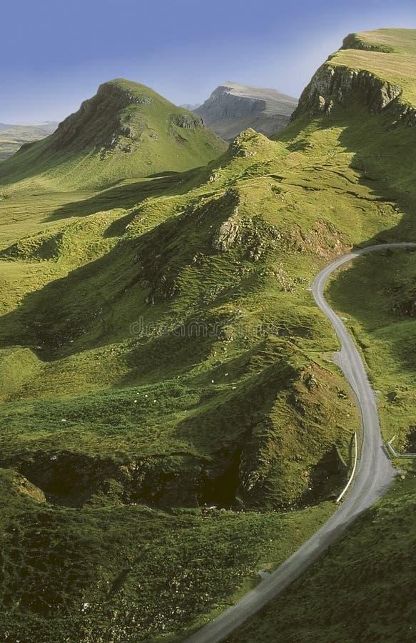 Schottland. Insel von skye. lizenzfreie stockfotos