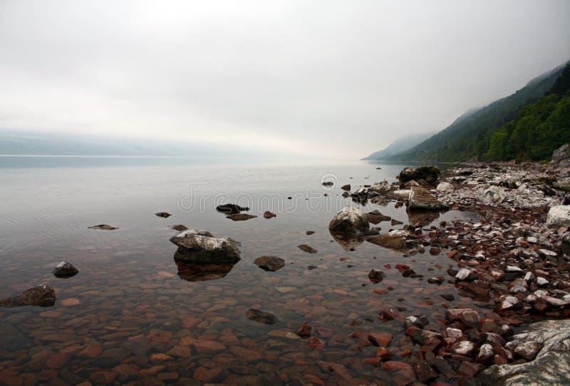 Schottlands Loch Ness stockbilder