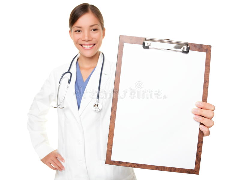 schowka doktorski medyczny seans znak fotografia stock