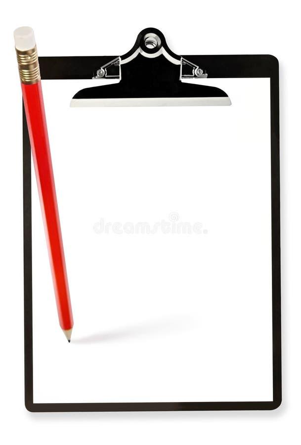 schowka ołówek fotografia stock