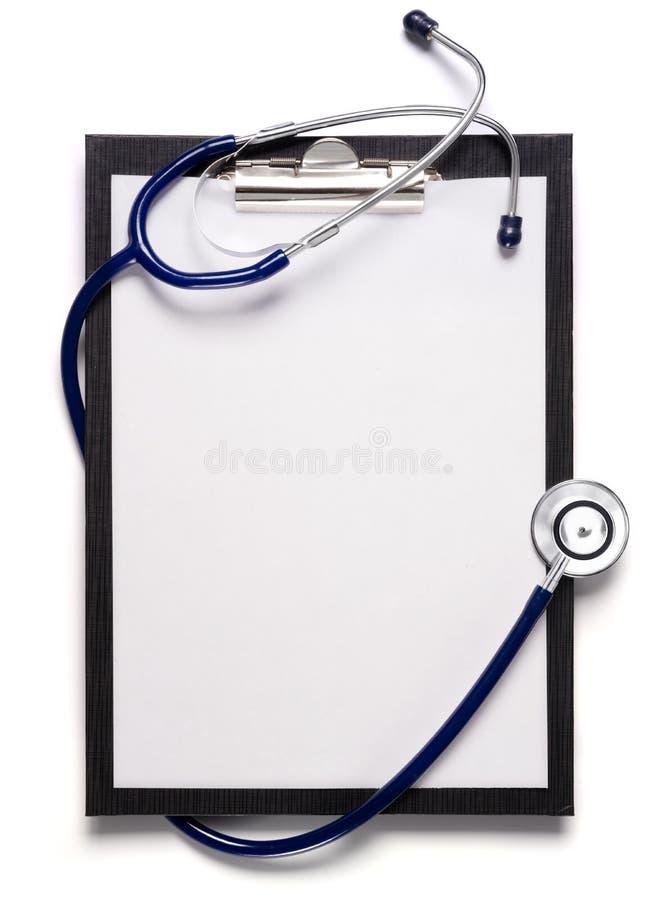 schowka stetoskop fotografia stock