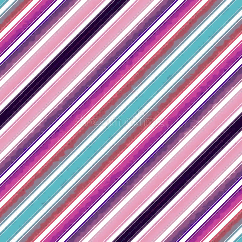 Schrägstreifenlinie Muster nahtlos, Papierzusammenfassung lizenzfreie abbildung