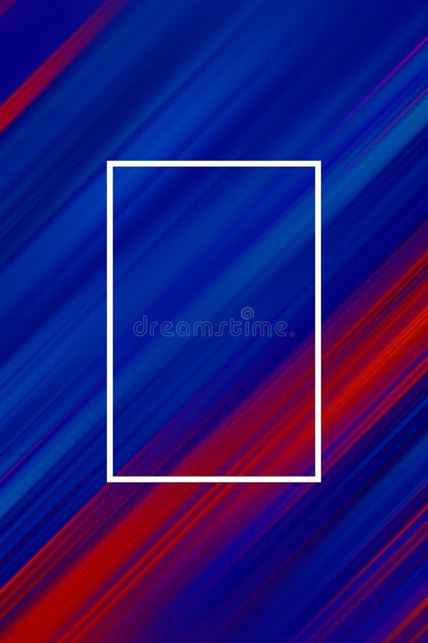 Schr?gstreifenhintergrund mit Rahmen Linien abstrakte Entwurfsabdeckung, Beschaffenheitshintergrund stock abbildung