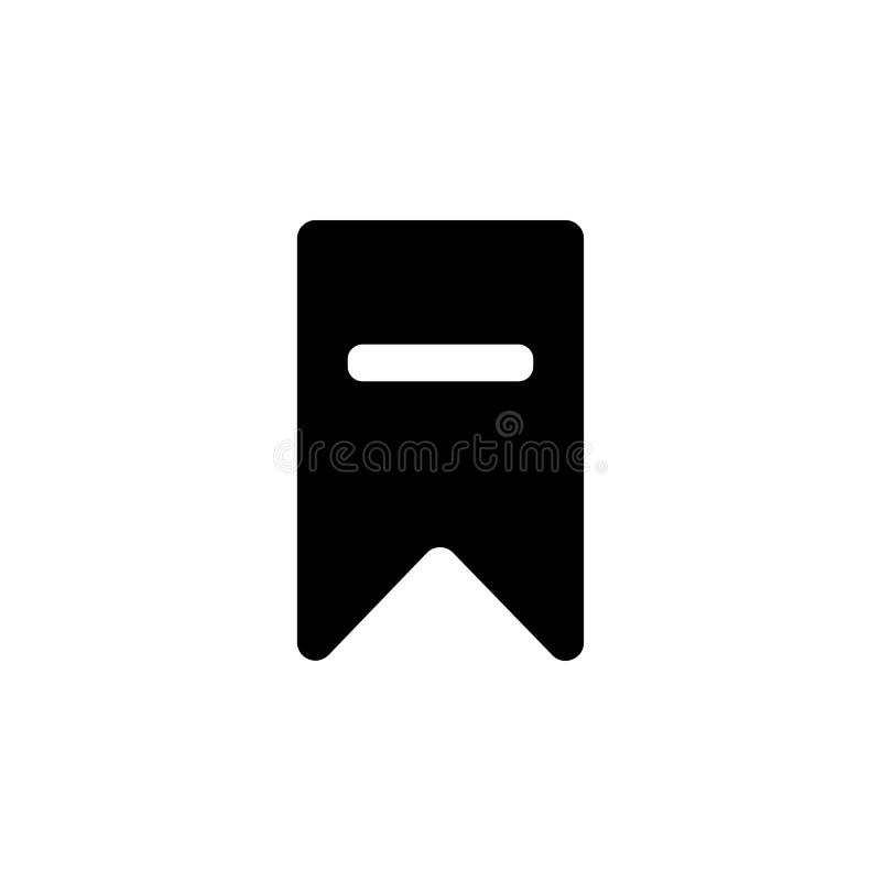 schrap referentiepictogram Element van eenvoudig pictogram voor websites, Webontwerp, mobiele app, informatiegrafiek Tekens en sy royalty-vrije illustratie