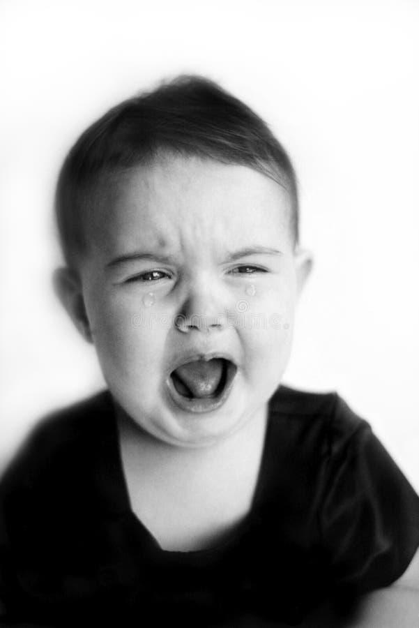 Schreeuwend Kind stock fotografie
