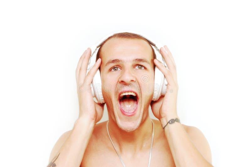 Schrei DJ stockbilder