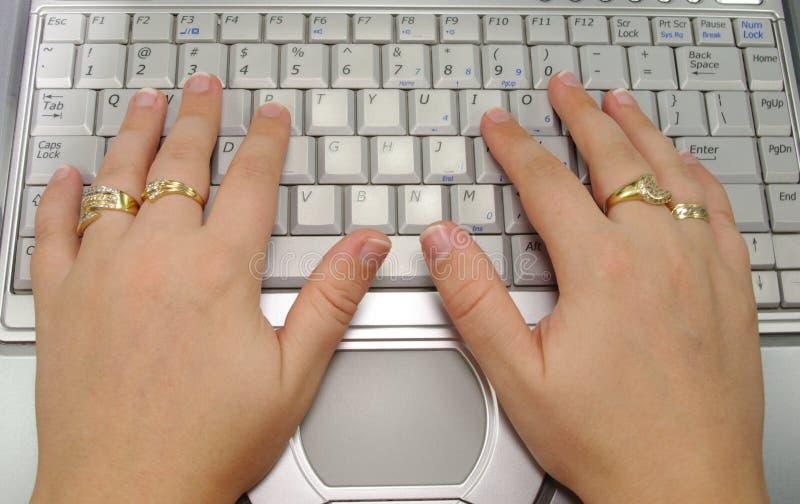 Schreiben lizenzfreie stockfotos