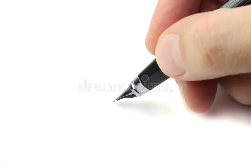 Schreiben lizenzfreie stockfotografie