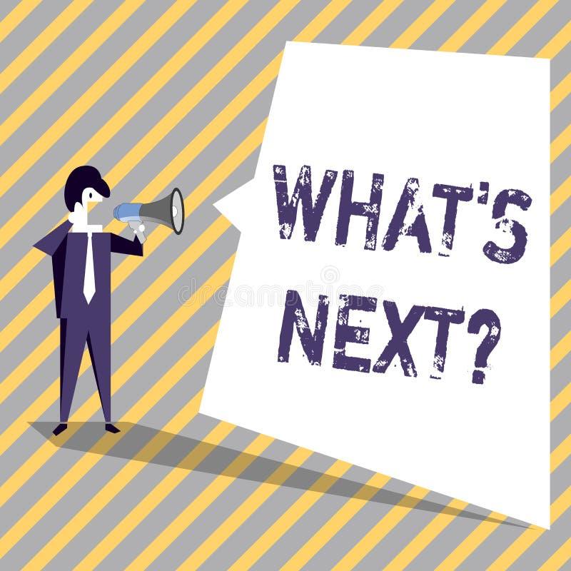 Schreiben der Anmerkung, die welches S Nextquestion zeigt Geschäftsfoto, das nach Schritte Anleitung zur Schau stellt, um sich zu lizenzfreie abbildung