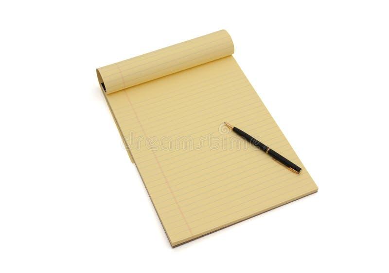 Schreiben Ihrer Ideen lizenzfreie stockfotografie