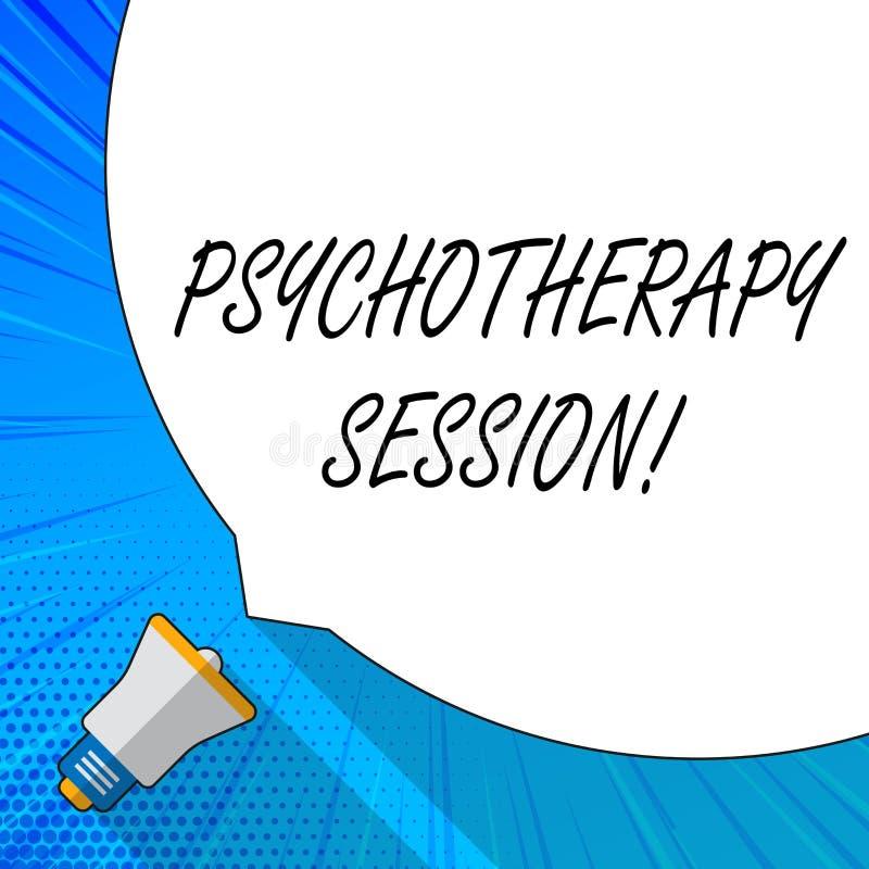Schreiben von Anmerkungsvertretung Psychotherapie-Sitzung Präsentationsbehandlungen des Geschäftsfotos, die bei der psychischen vektor abbildung